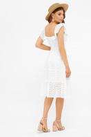 сиреневый сарафан из прошвы. сарафан Фрина К. Цвет: белый в интернет-магазине