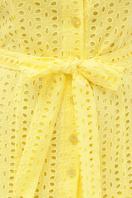 желтое платье на пуговицах. платье Уника 1 к/р. Цвет: желтый в Украине