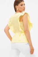 голубая летняя блузка. блуза Илари б/р. Цвет: желтый цена