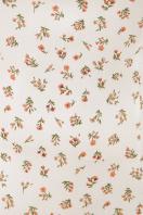 цветочное платье в деревенском стиле. платье Даная к/р. Цвет: белый-м.цветы в Украине