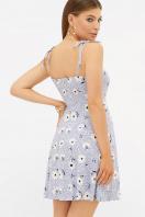 . сарафан Леена 2. Цвет: голубой-бел. ромашка в интернет-магазине