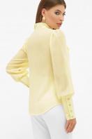 белая блузка с бантом. блуза Дарла д/р. Цвет: ваниль цена