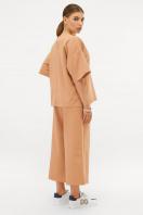 бежевый костюм с кюлотами. Костюм Джей. Цвет: бежевый цена