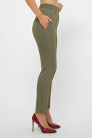 лиловые брюки 7/8. брюки Бенжи 1. Цвет: хаки купить