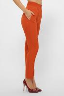 лиловые брюки 7/8. брюки Бенжи 1. Цвет: терракот купить