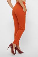 терракотовые брюки со стрелками. брюки Бенжи 1. Цвет: терракот цена