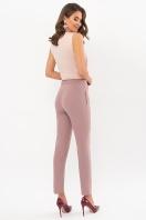 лиловые брюки 7/8. брюки Бенжи 1. Цвет: лиловый цена