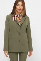 женский пиджак хаки. пиджак Патрик 2. Цвет: хаки купить