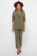 женский пиджак хаки. пиджак Патрик 2. Цвет: хаки в Украине