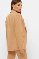 женский пиджак хаки. пиджак Патрик 2. Цвет: песочный в интернет-магазине