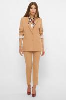 женский пиджак хаки. пиджак Патрик 2. Цвет: песочный в Украине