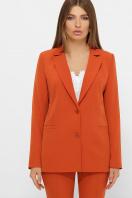 женский пиджак хаки. пиджак Патрик 2. Цвет: терракот купить