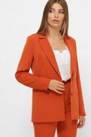 женский пиджак хаки. пиджак Патрик 2. Цвет: терракот цена