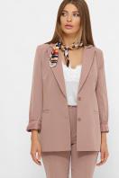женский пиджак хаки. пиджак Патрик 2. Цвет: лиловый купить