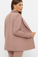 женский пиджак хаки. пиджак Патрик 2. Цвет: лиловый в Украине