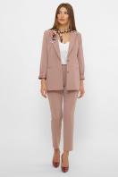 женский пиджак хаки. пиджак Патрик 2. Цвет: лиловый недорого