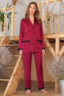 . рубашка Долорес д/р. Цвет: бордо купить