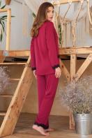 . рубашка Долорес д/р. Цвет: бордо в интернет-магазине