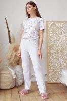 . пижама Джойс-1. Цвет: серый-фламинго купить