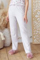 . пижама Джойс-1. Цвет: серый-фламинго в интернет-магазине