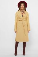 . Пальто MS-267. Цвет: 267-горчица цена