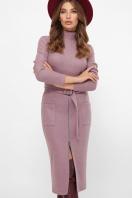 . платье Виталина 1 д/р. Цвет: т. лиловый в интернет-магазине
