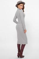 . платье Виталина 1 д/р. Цвет: св. серый в интернет-магазине