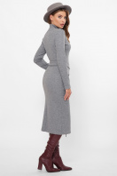 . платье Виталина 1 д/р. Цвет: серый цена