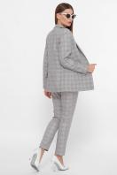 . пиджак Патрик К. Цвет: серый-розовая клетка цена