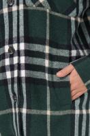 . рубашка Роуз д/р. Цвет: клетка зеленая в интернет-магазине