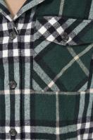 . рубашка Роуз д/р. Цвет: клетка зеленая в Украине