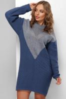 . Платье 181. Цвет: светлый джинс-синий цена