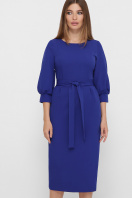 . платье Лэтти 3/4. Цвет: королевский синий купить