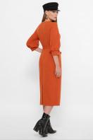 . платье Лэтти 3/4. Цвет: терракот цена