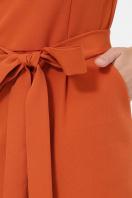 . платье Лэтти 3/4. Цвет: терракот в интернет-магазине