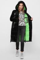 . Куртка 2102. Цвет: 01-черный-зеленый цена