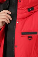 . Куртка М-2091. Цвет: 19-красный в Украине