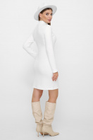 . платье-гольф Алена1 д/р. Цвет: белый в интернет-магазине