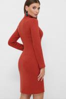. платье-гольф Алена1 д/р. Цвет: терракот купить