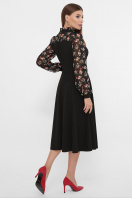 черное платье с цветами. Платье Алтея д/р. Цвет: черный цена