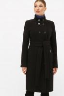 . Пальто П-407-100. Цвет: 161-черный цена
