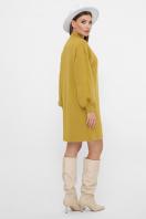 горчичное платье из ангоры. платье Талита д/р. Цвет: горчица в интернет-магазине