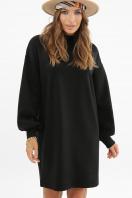 горчичное платье из ангоры. платье Талита д/р. Цвет: черный купить