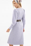 терракотовое платье из ангоры. Платье Жизель д/р. Цвет: лавандовый в интернет-магазине