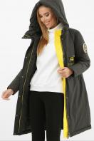 . Куртка 297. Цвет: 13-серо-зеленый-желт купить