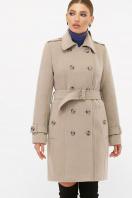 . Пальто П-414-90. Цвет: 047-св.серый цена