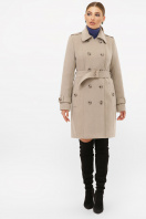 . Пальто П-414-90. Цвет: 047-св.серый в интернет-магазине