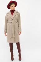 . Пальто П-408-100. Цвет: 047-св.серый в интернет-магазине
