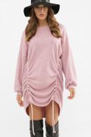 терракотовое платье с длинным рукавом. Платье Диля д/р. Цвет: розовый в интернет-магазине