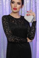 кружевное красное платье. Платье Сания д/р. Цвет: черный в интернет-магазине